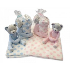 Одеялце с играчка
